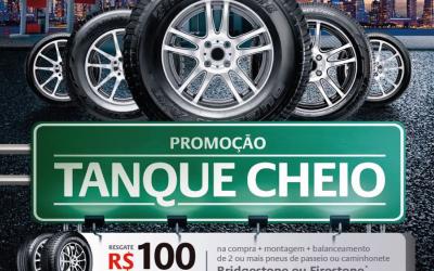 PROMOÇÃO TANQUE CHEIO – BRIDGESTONE